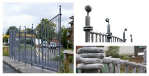 Football Railings