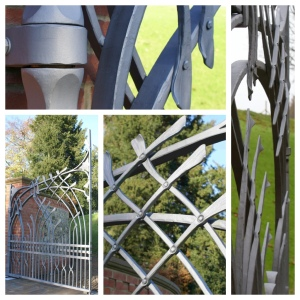 Blacksmith, Hand forged, Design, Ironwork, Forge, Wrought Ironwork, Hot Forged, Blacksmithing, Gates, Wrought Iron Gates, Entrance Gates
