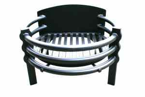 Contemporary designed free standing Fire Basket