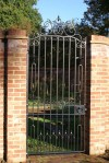 Gate, Blacksmith, Hand forged, Design, Ironwork, Forge, Wrought Ironwork, Hot Forged, Blacksmithing