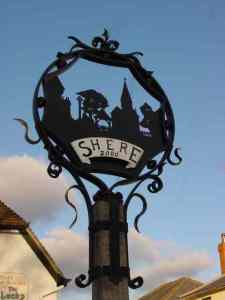 Blacksmith, Hand forged, Design, Ironwork, Forge, Wrought Ironwork, Hot Forged, Blacksmithing, Burrows Lea Forge, Nick Bates, Village sign