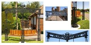 Blacksmith, Hand forged, Design, Ironwork, Forge, Wrought Ironwork, Hot Forged, Blacksmithing, Arts & Crafts, Sidney Sime, Sidney Sime Bench,, Burrows Lea Forge, Nick Bates