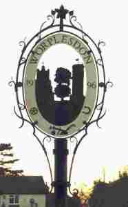 Blacksmith, Hand forged, Design, Ironwork, Forge, Wrought Ironwork, Hot Forged, Blacksmithing, Burrows Lea Forge, Nick Bates, Village sign