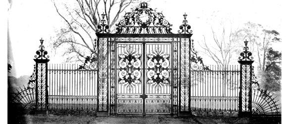 'Tijou' gates circa 1900