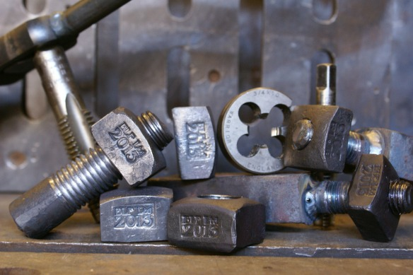 Hand forged Nuts & Bolts