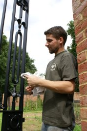 Blacksmith, Hand forged, Design, Ironwork, Forge, Wrought Ironwork, Hot Forged, Blacksmithing, gate, wrought iron gate, iron gate