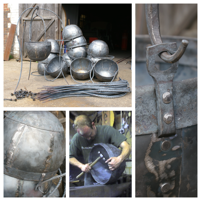 Blacksmith, Hand forged, Design, Ironwork, Forge, Wrought Ironwork, Hot Forged, Blacksmithing, Robin Hood, Ridley Scott, Film props, Set Decoration